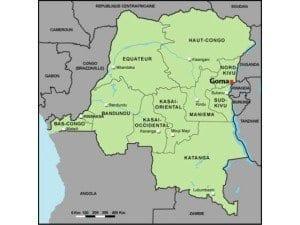 Mappa RDCongo