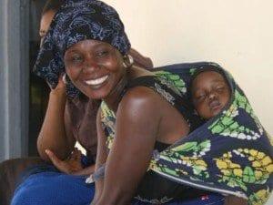Tanzania mother baby