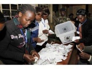 Votazioni in Kenya