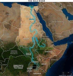 Diga Etiopia Nilo