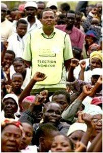 un osservatore per le elezioni