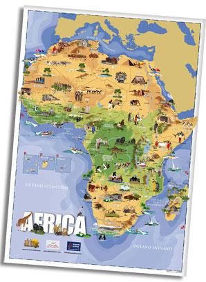 nuova mappa dell'Africa