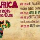 Sabato 7 marzo: Tempo d'Africa a Mariano Comense (CO)