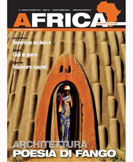 Copertina Africa n°3 maggio - giugno 2015