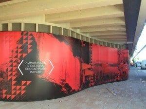 Pubblicità Expo a Luanda