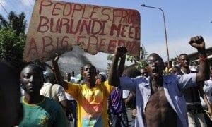 Scontri in Burundi