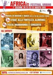 20-23 agosto AfricaIn Festival a Urbino