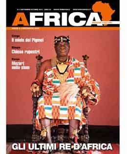 Copertina Africa numero 5-2015 - settembre-ottobre