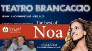 9 novembre a Roma: Noa in concerto per Kimbondo (RDCongo)