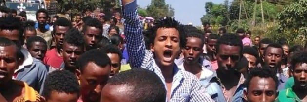 Etiopia – Oromia, i giovani bloccano le attività sociali e commerciali in segno di protesta