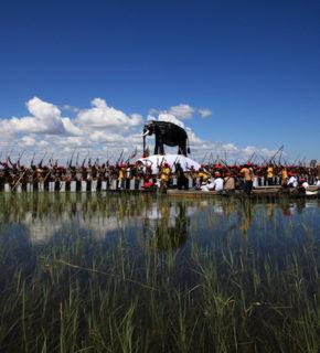 Zambia: festa sullo Zambesi