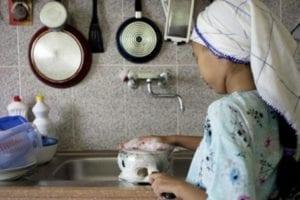 piccola domestica in marocco