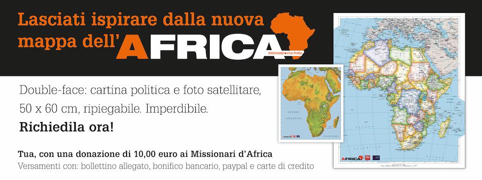 Cartina Dell Africa Fisica E Politica.Mappa Politica E Fisica 2016 Rivista Africa