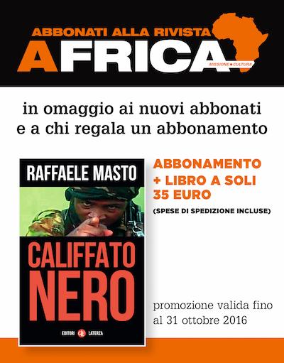 Africa + libro Califfato Nero