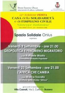 Festa della Solidarietà e dell'Impegno Civile