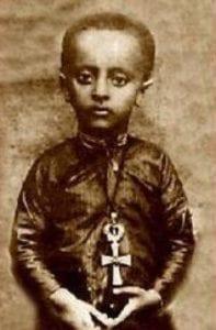 Il piccolo Haile Selassie