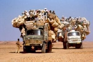 migranti nel sahara
