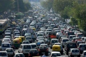 Traffico a Nairobi