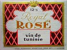 Rosé tunisino
