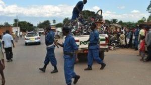 Sequestro di biciclette a Bujumbura
