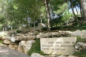 Giardino dei giusti in Israele