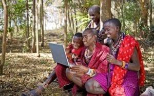 masai con web