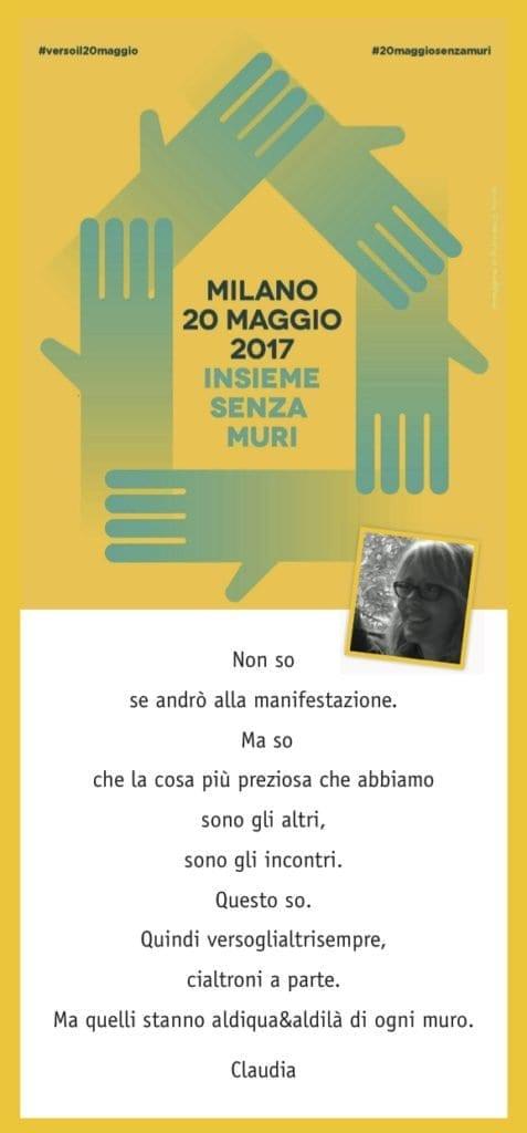 Claudia Brambilla 20 maggio