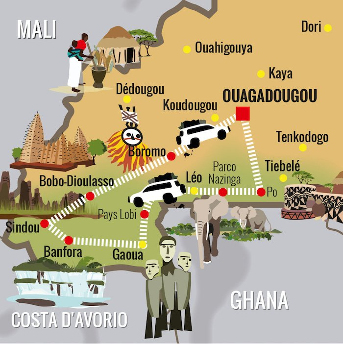 Itinerario Viaggio Burkina