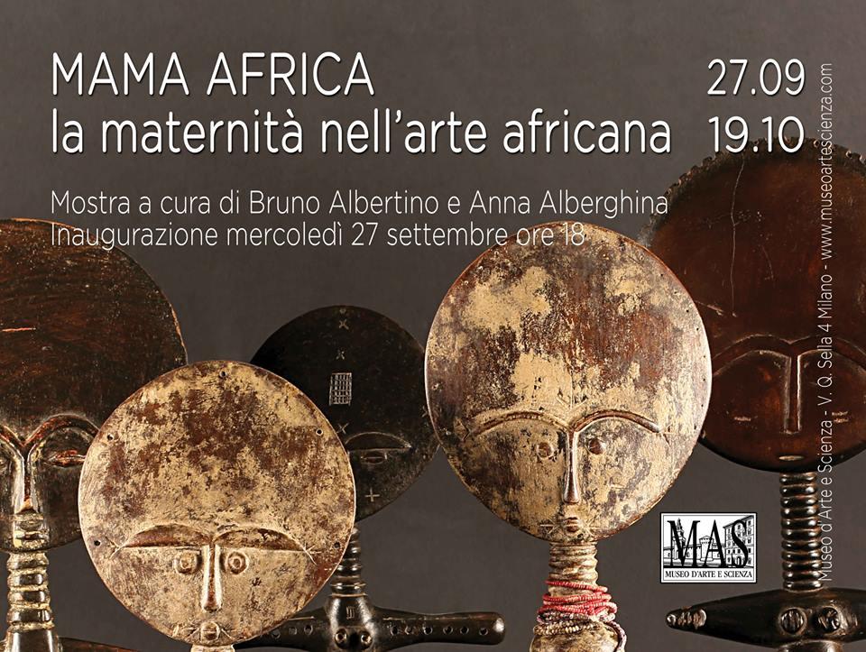 Inaugurazione mostra 'Mama Africa, la maternità nell'arte africana'