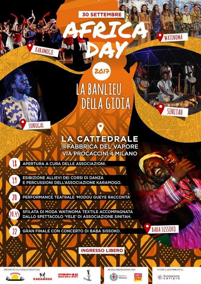 Africa Day a Milano il 30 settembre