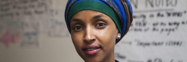 Ilhan Omar, la prima deputata islamica negli Usa, sulla copertina di «Time»