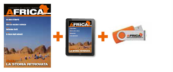 Africa carta + digitale + usb
