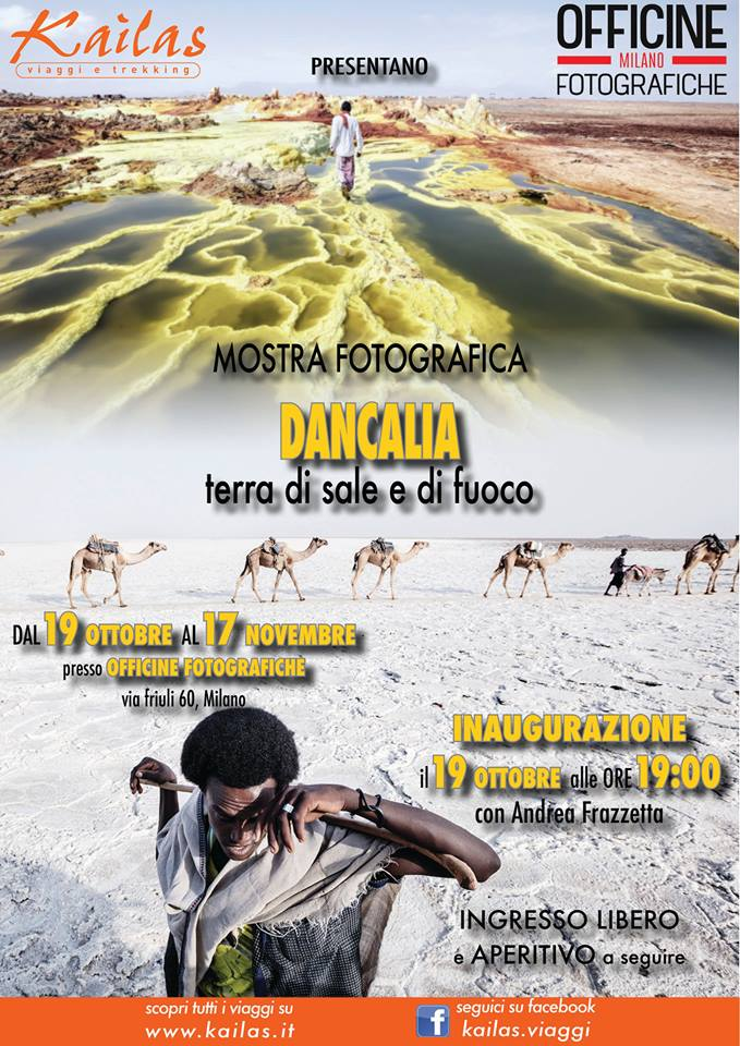 Dancalia. Terra di sale e fuoco