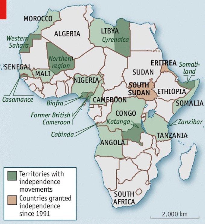 Separatismi in Africa