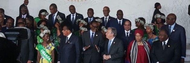 30° Summit dell'Unione Africana ad Addis Abeba