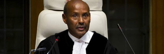 Un somalo alla guida della Corte internazionale di giustizia