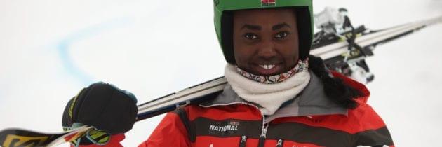 Kenya – Il sogno olimpico di Sabrina, la prima sciatrice keniana