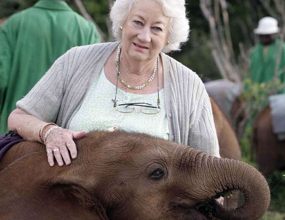 Kenya Addio A Daphne Sheldrick Salvatrice Di Elefanti Africa