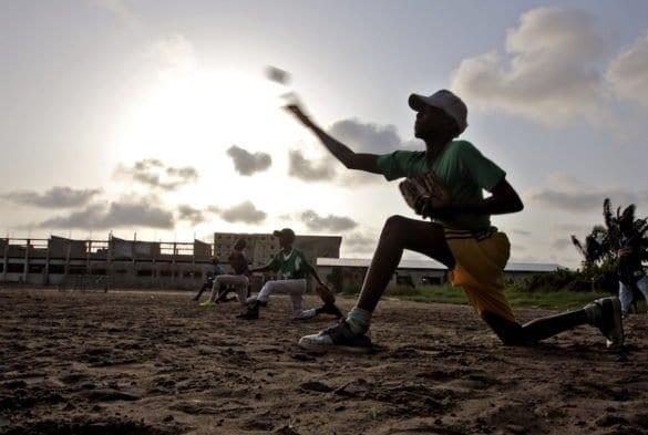 Benin, passione baseball