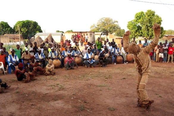 Costa d'Avorio: la danza della pantera