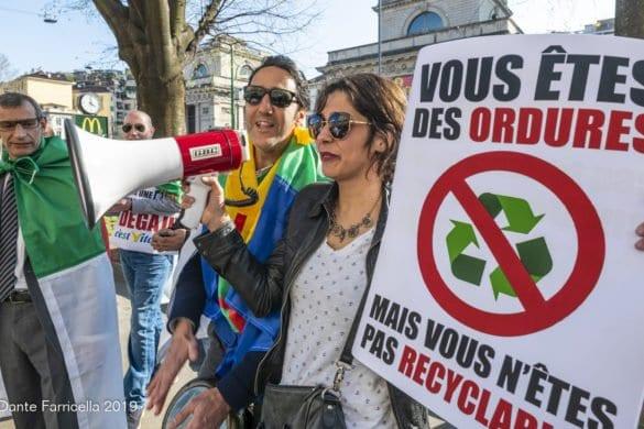 L'Algeria manifesta a Milano