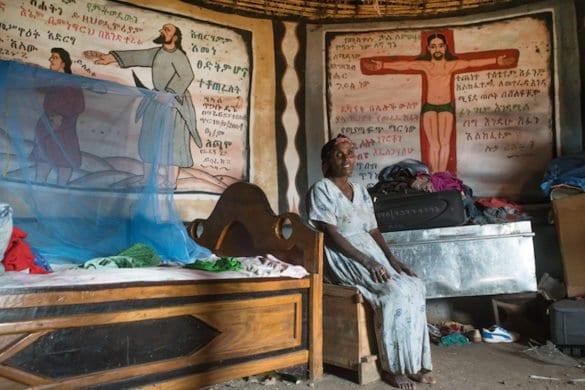 Etiopia: le colorate case degli Halaba