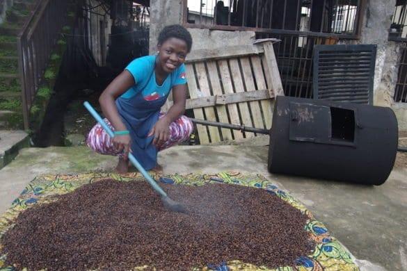Da Freetown il caffè di Hannah