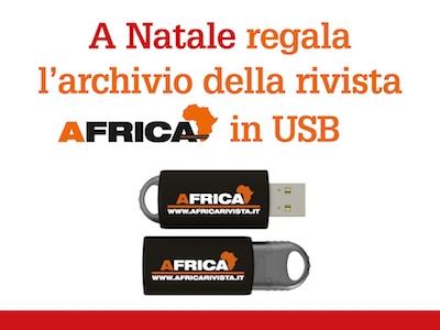 Chiavetta USB Africa per Natale