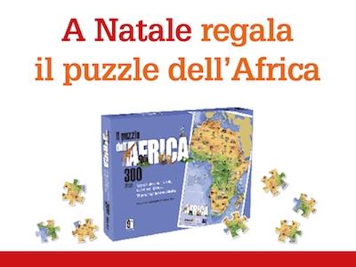 Puzzle Africa per Natale