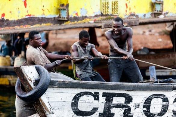 Elmina (Ghana) - Pescatori