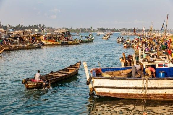 Elmina (Ghana) - porto