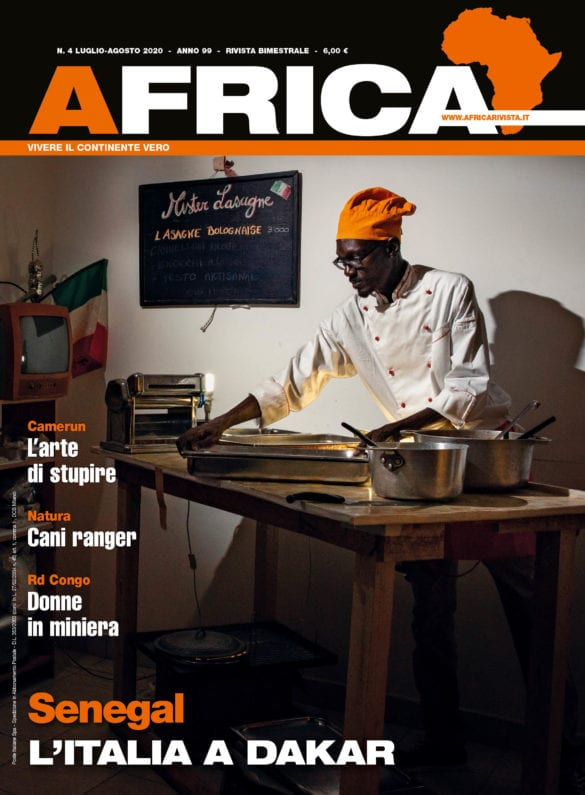 AFRICA luglio-agosto 2020 cop