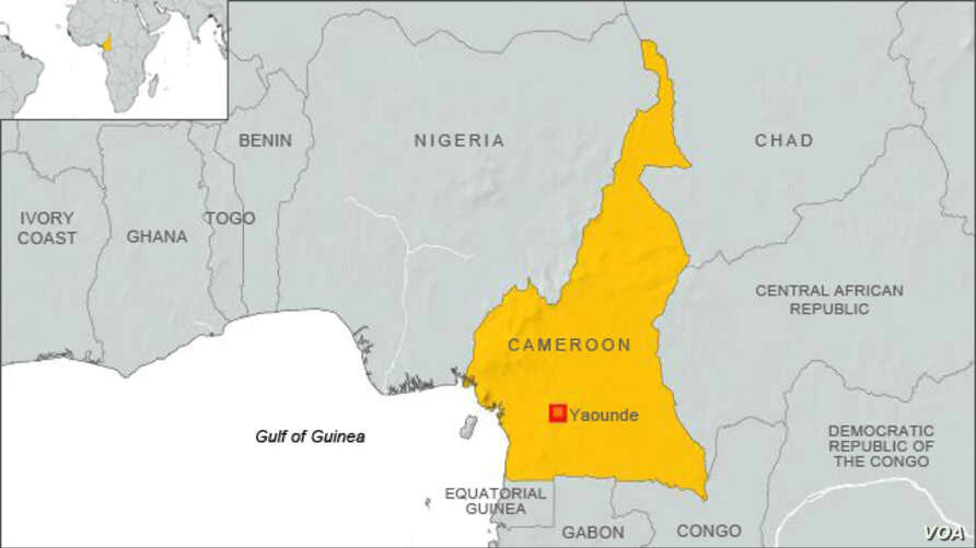 camerun mappa